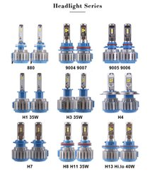 Wholesale Hid Bulb H13 - LED Headlight Conversion Kit 880 9004 9005 H4 H7 H11 H13 40W 4000LM Headlamp Replace HID Xenon Kit Auto Bulb Lamp Light