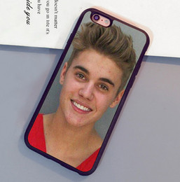 Wholesale Case Iphone 4s Justin - Funny Justin Bieber Printed Soft Rubber Skin Phone Cases For iPhone 6 6S Plus 7 7 Plus 5 5S 5C SE 4S Back Cover