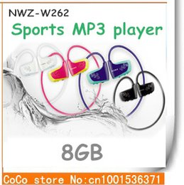 Wholesale Dropshipping Headphones Earphones - Wholesale- free shipping New w262 gift sports Mp3 earphone headphones music player 8gb dropshipping