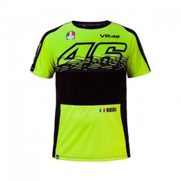 Wholesale Plus Size Jerseys Women - 2017 NEW Valentino Rossi VR46 The Doctor MOTOGP Race Quick-drying T-shirt Jersey