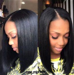 Black Women Middle Part Bob Hairstyles Suppliers Best Black Women