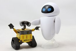 Wholesale Old Collectible Toys - Free Shipping eve eva - Robot Wall E PVC Action Figure Collection Model Toy Doll 6cm OLD STYLE Toy Collectible