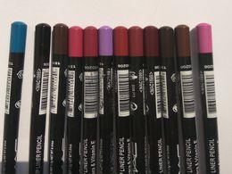 Wholesale Eye Stick Pen - MENOW 12 Colors Eye Make Up Eyeliner Pencil Waterproof Eyebrow Beauty Pen Eye Liner Lip sticks Cosmetics Eyes Makeup