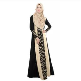 Mujeres islámicas kaftan online-Abaya ropa de mujer turca musulmán vestido ropa islámica para mujeres Robe Musulmane Jibabs vestidos Dubai Kaftan Vestidos Longo Hijab ropa