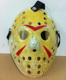 Wholesale Jason Face - New Cosplay Make Old thicken Friday The 13th Jason Voorhees Hockey Mask