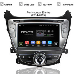 "Wholesale Car 3g Tv Gps - 8"" Hyundai Elantra 2014 in-dash Android Car DVD Player with TV BT GPS navigation 3G WIFI,Car PC multimedia headunit Audio Radio Stereo"