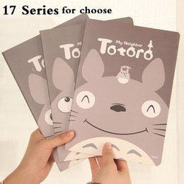 Wholesale Office Binding Supplies - Wholesale- 1pcs lot ZAKKA 32K style Totoro Friends Mixed World NoteBook A5 Diary Kids' gift stationery office school supplies 206*140mm