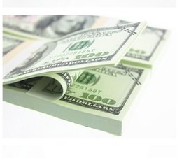 Wholesale Sheets Crafts - 100PCS USA New $100 50 20 10 5 2 Training Banknotes Bank Staff Learning Dollars Movie Props Money Commemorative Home Decoration Arts Crafts