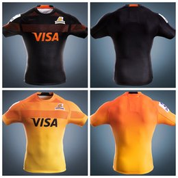 Wholesale Argentina Rugby - 2017 Jaguares rugby jerseys 17 18 home away top quality JAGUARES rugby shirts Argentina league rugby