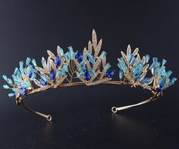 Wholesale Tiaras Wholesale Suppliers - 2017 Pcincess Crowns Shiny Crystals Real Sample Bridal Wedding Tiara Girls Evening Prom Party Dresses Accessories supplier