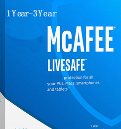Wholesale Internet Homes - NEW McAfee LiveSafe Antivirus internet security PC Mac Android iOS 1 Year 2YEAR 3YEARS Unlimited Devices