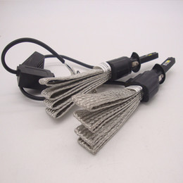 Wholesale Car Fog Lights Kit - Wholesale upgrade kit H1 H4 H7 H11 9005 9006 80W 8000LM 6500K Cree LED Headlight Fog Driving Lamp Bulb kit car styling