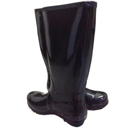 Wholesale Tall Rainboots - Women RAINBOOTS fashion Knee-high tall rain boots waterproof welly boots Rubber rainboots water shoes rainshoes 11 colors