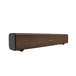 Wholesale Dock Radio - Wholesale- 2*10W Big Power BT808 HIFI Soundbar Portable Wireless Bluetooth Speaker Stereo Subwoofer Sound support MIC Aux Black