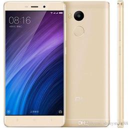 huawei ascend dual sim téléphones Promotion D'origine Xiaomi Redmi 4 4G LTE téléphone portable débloqué Qualcomm Snapdragon 430 Octa Core 2 Go / 16 Go Android 6.0 5.5 pouces 13MP