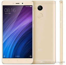 2019 telefon tri sim Ursprüngliches Xiaomi Redmi 4 4G LTE freigesetzter Handy Qualcomm Snapdragon 430 Octa Kern 2GB / 16GB Android 6.0 5.5 Zoll 13MP