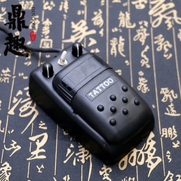 Wholesale Tattoo Power Supply Pedal Kit - Lastest Type Professional Tattoo Power with Foot Pedal Integrated Switch Power Supply for Tattoo Machine Gun Kits TPS035