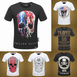 Wholesale Crystal Tops - 2017 new arrival style famous brand design mens t shirts top quality fashon cotton tshirts men tshir