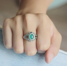 Wholesale Victorian Cocktails - classical Victorian jewelry tiny green Chalcedony ring mother gift idea Artisan ring,Cocktail Ring,MOTHERS DAY GIFT,feminine ring,