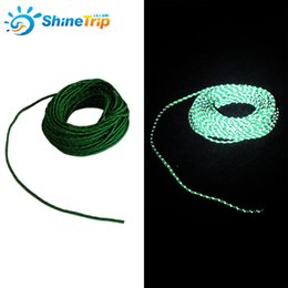 Wholesale Reflective String - 50Ft Reflective String Windproof Tent Rope Guy Line Camping Tent Kits Camping Rope Canopy Guy Ropes 2.5MM Diameter 018