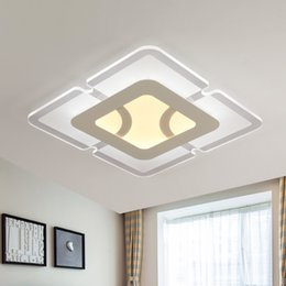 Wholesale Eclairage Led - modern led ceiling lights for living room bedroom foyer lamps eclairage plafonnier lamparas de techo indoor fixture lighting