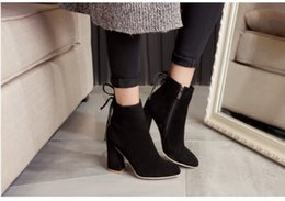 Wholesale ladies army boots - Free shipping Fashion Spring Boots Ladies Woman Motorcycle Boots Vintage Combat Army Punk Goth Ankle Shoes Women PU Leather Short Boots
