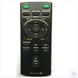 Wholesale universal c remote control - Wholesale- New Sound Bar Remote Control RM-ANU159 for sony HT-CT60 SA-CT60 HT-CT60 C SS-WCT60 Fernbedienung