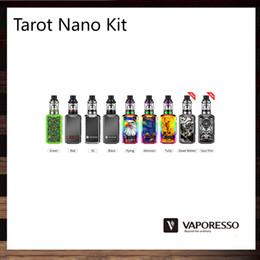 Wholesale Wholesale Black Boards - Vaporesso Tarot Nano Kit 80W Tarot Nano Mod With 2500mah Battery 2ml VECO EUC Tank Leak Free Design OMNI Board 100% Original