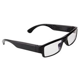 Wholesale Mini Video Frames - New 1080P HD Spy Camera Without Hole Fashion Frame Glasses Surveillance DVR Hidden Camera Videos Recorder Eyewear Cam Mini DV Free Shipping