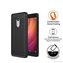 Canada Xiaomi Redmi 4 Pro 4X 4A 3S Note 4 4X 3 2 Coque Silicone Fibre De Carbone Brosse Douce Couverture de Téléphone pour iPhone 7 Offre