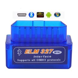 Wholesale Car Pc Wifi - 100pcs Lot Lowest Price Best v2.1 Super Mini Wifi ELM327 OBD 2 II Car Diagnostic Tool For IOS   Android   PC Wifi
