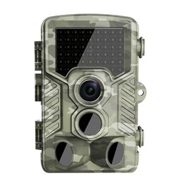 Wholesale Outdoor Hunting Video Cameras - Night vision Hunting Camera Waterproof 1080P HD Outdoor Hunt Video Camera trap Wildlife trail Camera