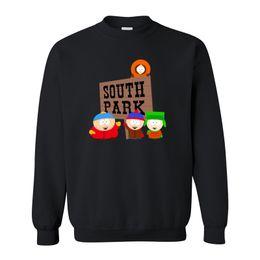 Wholesale South Park Clothing - Wholesale-Autumn Cotton Pattern Mens Clothing Cartoon Sitcoms SOUTH PARK sweatshirt With Long Sleeve fleece hoodies sweatshirts