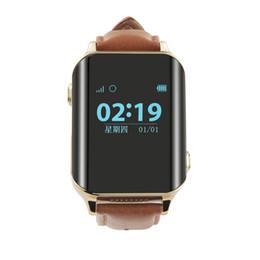 Wholesale Elder Phones - A16 GPS Tracker Heart Rate Monitor Smart Watch for Elderly Clock Alarm Lifetime GPS Platform for Elder  Disbled Patient SOS Call Ann