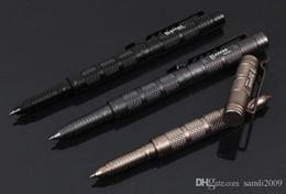 bolígrafos tácticos laix Rebajas Aparatos para exteriores defensa personal táctica supervivencia pluma aviación aleación de aluminio senderismo y herramienta para acampar salvavidas pluma LAIX B7 Tactical Pen