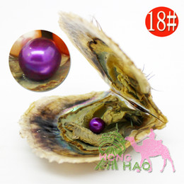 Wholesale Vacuum Pieces - AAAA 6-7mm round Akoya shell pearl in oyster pearl with vacuum pack 30 pieces, free shipping via fedex free shipping 2-5days.
