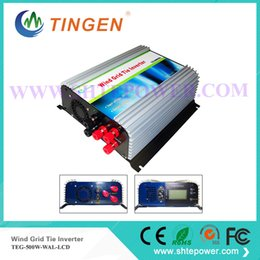 Wholesale Lcd Pure Sine Wave Inverter - 500w wind turbine generator 3 phase grid tie inverter ac input 10.8-30v pure sine wave with LCD