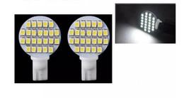 Lâmpadas led rv on-line-10 PCS Wedge T10 W5W 24 LED SMD Branco / Branco Quente RV Luz Lâmpada Lâmpadas de Estacionamento Carro Instrumento Luz DC12V