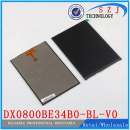 Wholesale Display Replacement Tablet - Wholesale-Original 8'' inch LCD Display Panel DX0800BE34B0-BL-V0 ZM80101D TYH141222 for Tablet pc LCD screen Replacement Free shipping