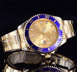 Wholesale Men Company - 40mm Luxury automatic double calendar Men and women quartz watch brand fashion company sees the crown quality male quartz watch