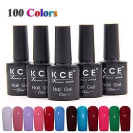 Wholesale Gel Polish For Cheap - Wholesale-High Quality Nail Gel Polish UV&LED Shining Colorful 100 Colors10ML Long lasting soak off Varnish cheap Manicure For Nail Art