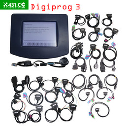 Wholesale Wholesale Odometer Tool - 2017 Digiprog III Digiprog III V4.94 Digiprog3 Odometer Correction Tool DP3 Digiprog 3 Mileage Programmer Full Set With ST01 ST04 Cable
