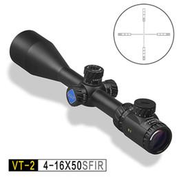 2019 atrações combo 2017 Visão Óptica Descoberta VT-2 4-16X50SFIR Viagem Ao Ar Livre Rifle Telescópio Monocular Coordenar arma acessórios