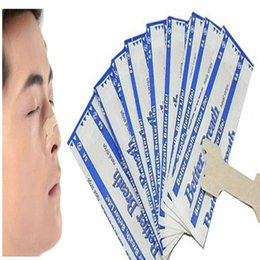 Wholesale Breath Right Nasal Strips - 500pcs(55x16mm) stop snoring breathe right Better breath nasal strips,anti snore stopper to solve nasal congestion sleep