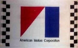 Wholesale Car Flag Usa - AMC AMERICAN MOTORS CORPORATION BANNER Racing car College Banner Flag 3X5Ft Custom America USA Team Soccer College Baseball Flag