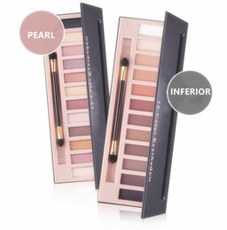 Wholesale Naked Eye Make Up - 12 colors Naked Eyes Makeup eyehadow palette Pearl matte Inferior eye shadow sets foundation make up benefit cosmetic 5673