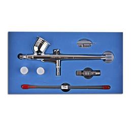 2019 fütterungssatz SP470T Gravity Feed Dual Action Trigger Airbrush Kit 0,2 mm / 0,3 mm / 0,5 mm Nadel-Airbrush-Spritzpistolenfarbe rabatt fütterungssatz