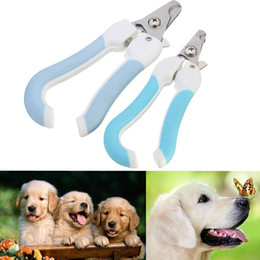 Wholesale Rabbit Cutter - Pet Dog Cat Rabbit Nail Clipper Cutter Claw Grooming Scissors Clippers Trimmers With File Color Assorted A248