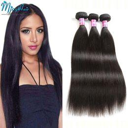 Wholesale Cheap Cambodian Virgin Weave - Peruvian Virgin Straight Hair Weave Bundles Cheap 4Pcs Lot Remy Indian Malaysian Mongolian Cambodian Brazilian Human Hair Extensions