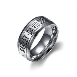 Wholesale Wholesale Biker Rings Free Shipping - NEW ARRIVAL 316l stainless steel biker motocyle ring hip hop jewelry for free shipping